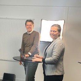 Dorthe and Jens Directors at Ingemann Components