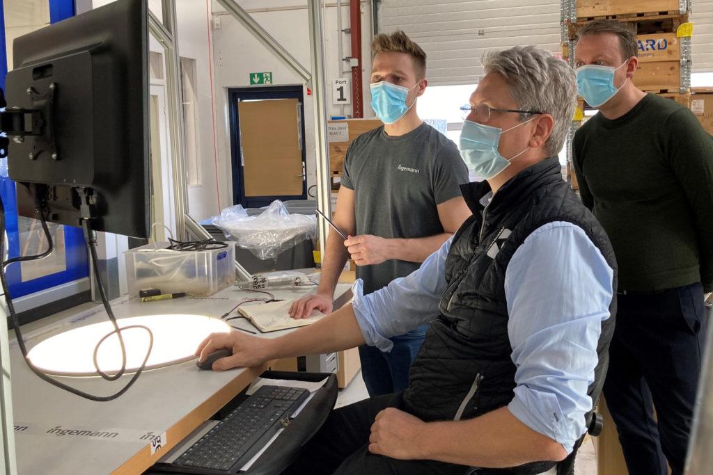 Process optimisation: More precise homogeneity measurements