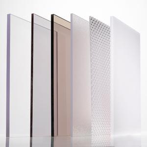 IMPEX Polycarbonate sheet colours