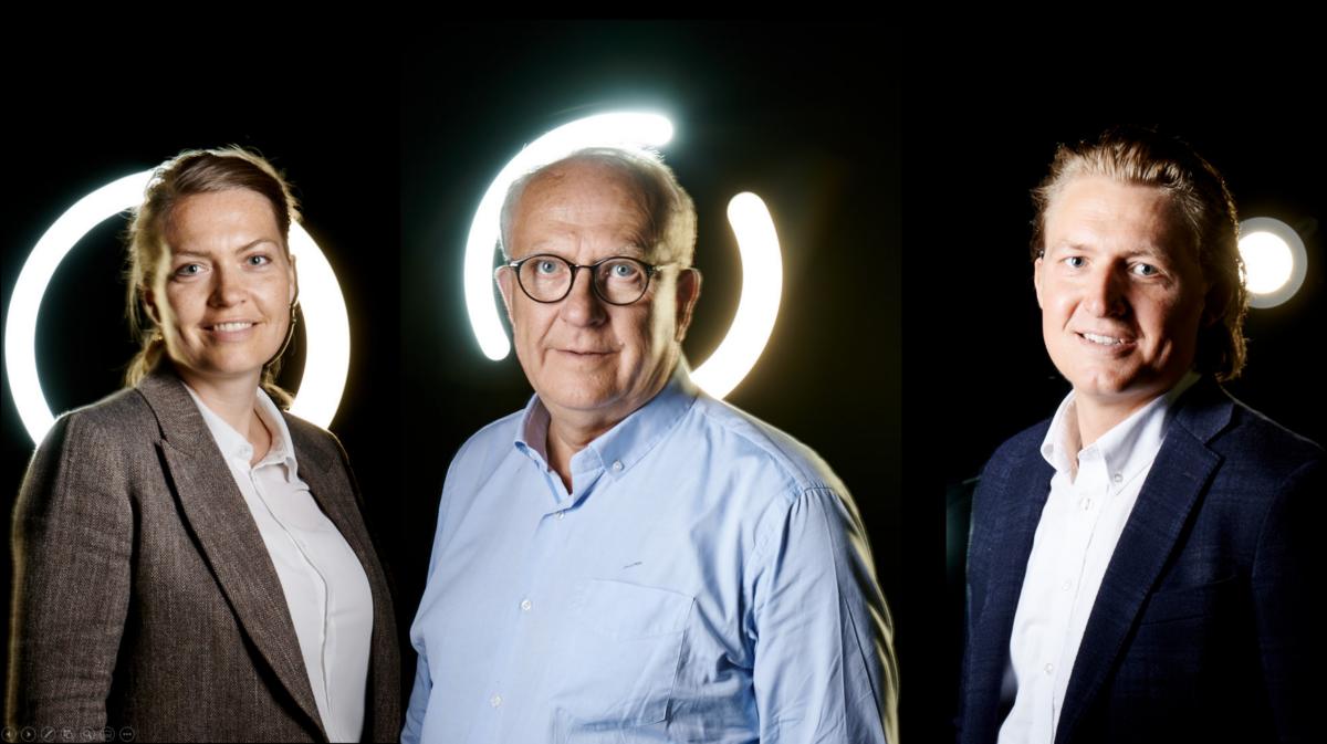 Managementteam Dorthe, Niels and Jens